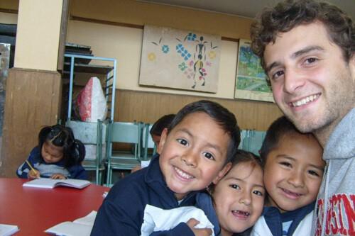 luxury volunteer trip in Ecuador