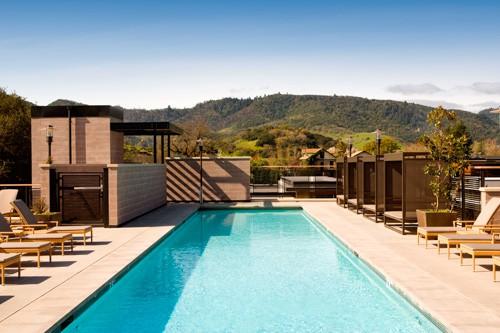 Eco-luxury hotel USA