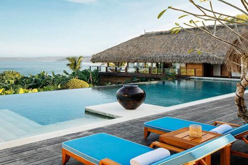 Eco-luxury hotel bali Indonesia