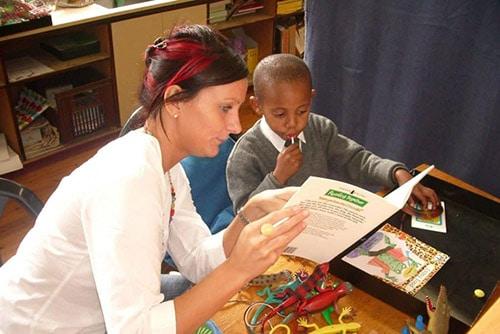 Teaching photo