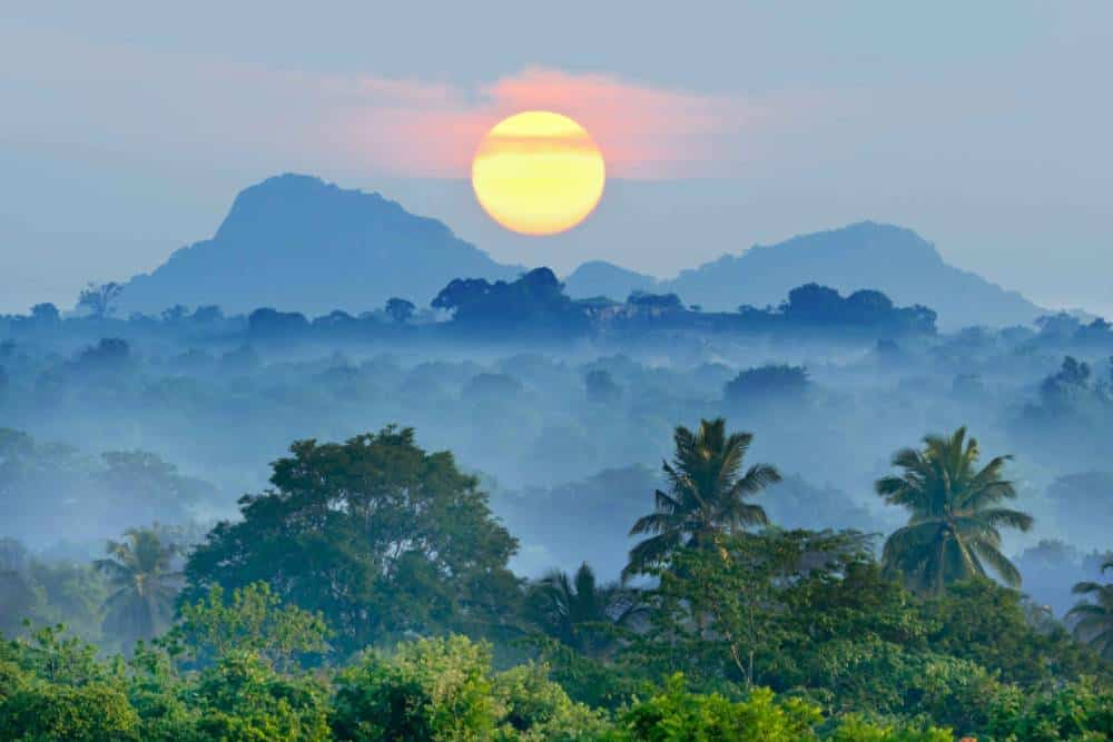 Luxury volunteering trip sunrise Sri-lanka
