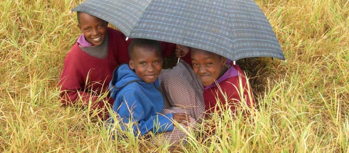 Luxury volunteering trip kids Kenya